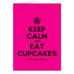 [Cupcake] keep calm and eat cupcakes  Cards