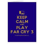 [Computer] keep calm and play far cry 3  Cards