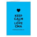 [Love heart] keep calm and love cma  Cards
