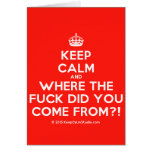 [Crown] keep calm and where the fuck did you come from?!  Cards