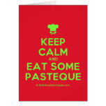 [Chef hat] keep calm and eat some pasteque  Cards