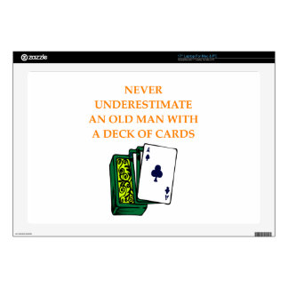 "CARDS 17"" LAPTOP DECAL"