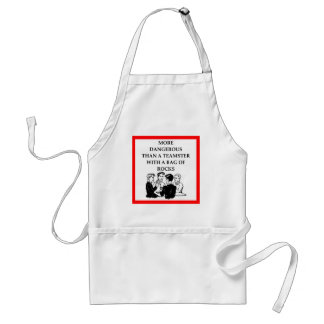 cards adult apron