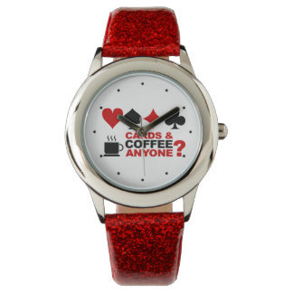 Cards And Coffee watches