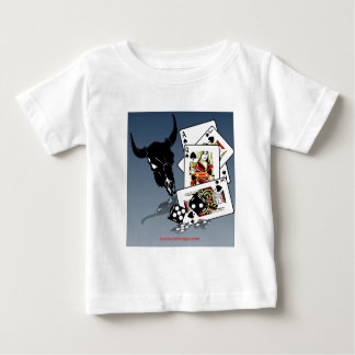 cards and dice design tee shirt