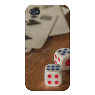 Cards and Dice  Savvy iPhone 4 Case