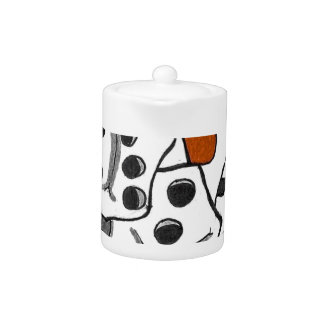 Cards and Dice Teapot