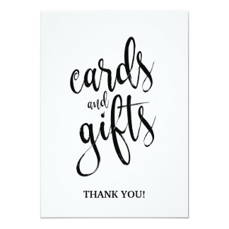 Cards and Gifts Affordable Calligraphy Sign