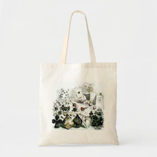 Cards and Hearts Marching Tote Bag