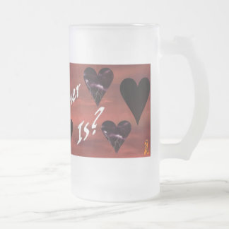 Cards Anyone - Lg Heart Mug