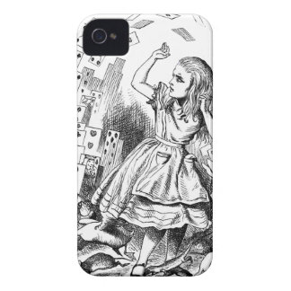 Cards Attack Alice in Wonderland Gift iPhone 4 Case
