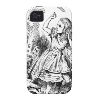 Cards Attack Alice in Wonderland Gift Case-Mate iPhone 4 Case