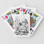 Cards Attack Alice in Wonderland Bicycle Poker Cards