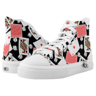 Cards & dice High-Top sneakers