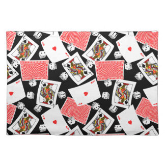 Cards & dice placemat