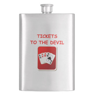 CARDS FLASK