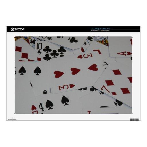 Cards Laptop Skin