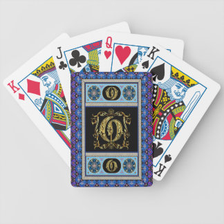 Cards Monogram O One of a kind View notes please