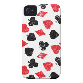 Cards poker House of card club spade heart diamond iPhone 4 Case-Mate Cases