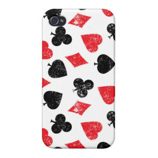 Cards poker House of card club spade heart diamond Cover For iPhone 4