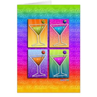 Cards - Pop Art Martinis
