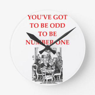 cards round clock