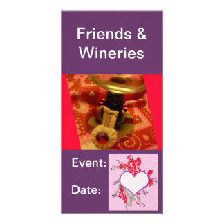 Cards:  Wine Tasting, Winery Card