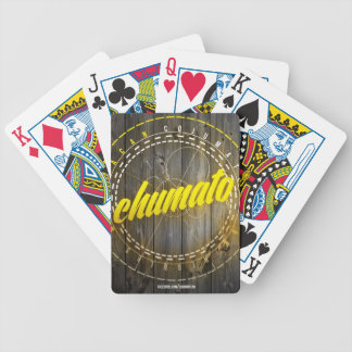 Cards/Yellow Outline Chumato 2013 Bicycle Playing Cards