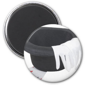 CardTrick111009 copy 2 Inch Round Magnet