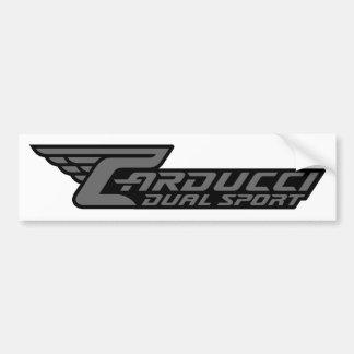 Carducci Dual Sport Bumper Sticker