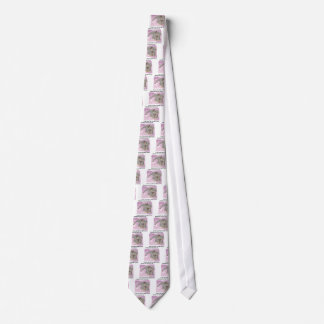Care about animals! neck tie