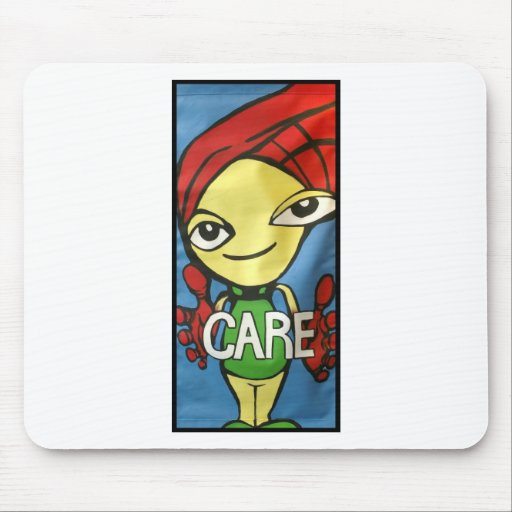 Care Banner Mouse Pad