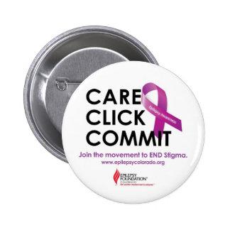 Care. Click. Commit Button