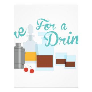 Care For Drink Letterhead
