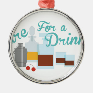 Care For Drink Metal Ornament