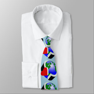 Care for earth neck tie