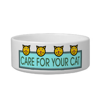 Care for Your Cat Bowl