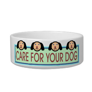 Care for Your Dog Dish