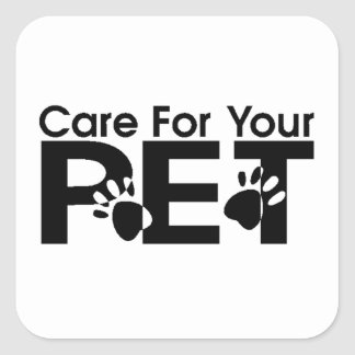 Care For Your Pet Sticker