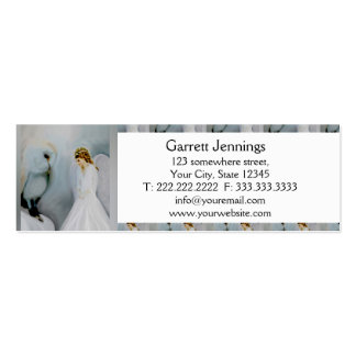 Care Guardian Angel and White Owl Business Card Templates