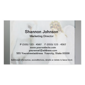 Care Guardian Angel and White Owl Business Cards