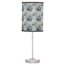 Care Guardian Angel and White Owl by Amelia Carrie Table Lamp