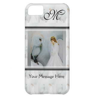 Care Guardian Angel and White Owl Case For iPhone 5C