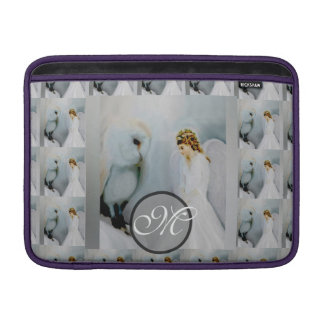 Care Guardian Angel and White Owl MacBook Sleeve