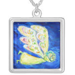 Care of the Soul Angel Art Custom Pendant Necklace