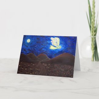 Care of the Soul Angel Art Greeting Cards