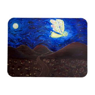 Care of the Soul Angel Art Painting Magnet