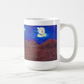 Care of the Soul Angel Art Painting Mug