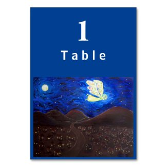 Care of the Soul Angel Custom Table Cards
