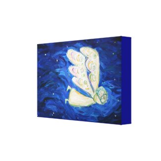 "Care of the Soul Angel Painting Canvas (8"" x 12"")"
